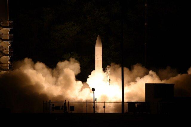 آزمایش موشک مافوق صوت در آمریکا