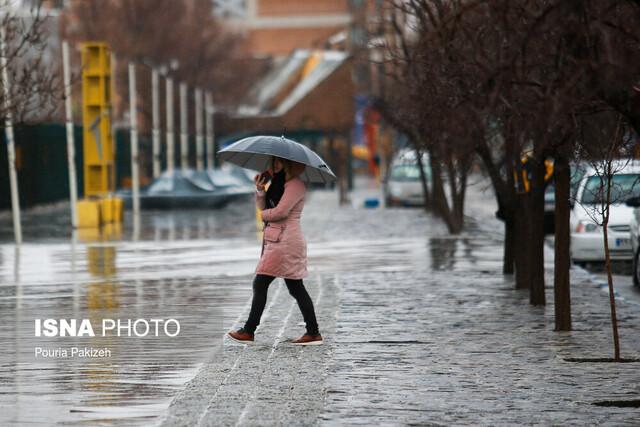 بارش باران در اکثر نقاط کشور از فردا