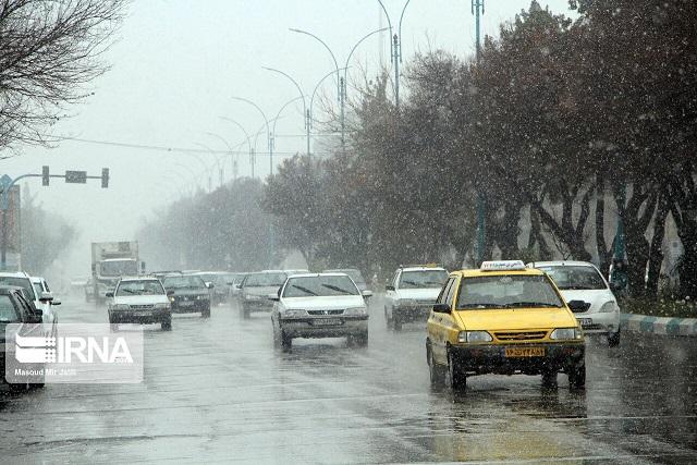 تهران امشب بارانی است