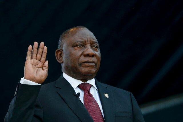 رئیس جمهوری آفریقای جنوبی