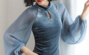 جدیدترین مدل لباس مخمل (عکس)