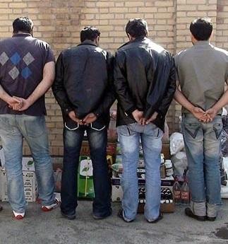 دستگیری 4 مسافرکش زورگیر در تهران