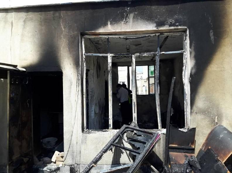 فوت 4 جوان در حادثه آتشسوزی در تهران (+عکس)