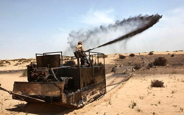 توقف مالچپاشی نفتی در خوزستان با دستور دادگاه اهواز