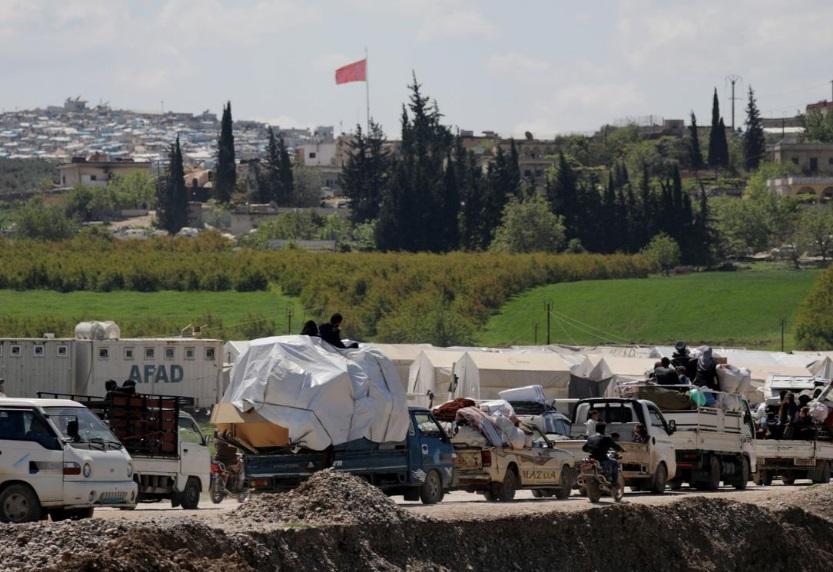 بازگشت آوارگان سوری به خانه های خود