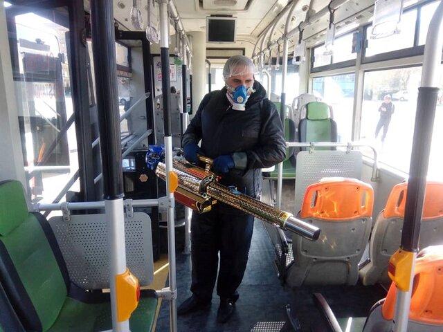 49 مبتلا و 2 فوتی براثر کرونا در اتوبوسرانی تهران