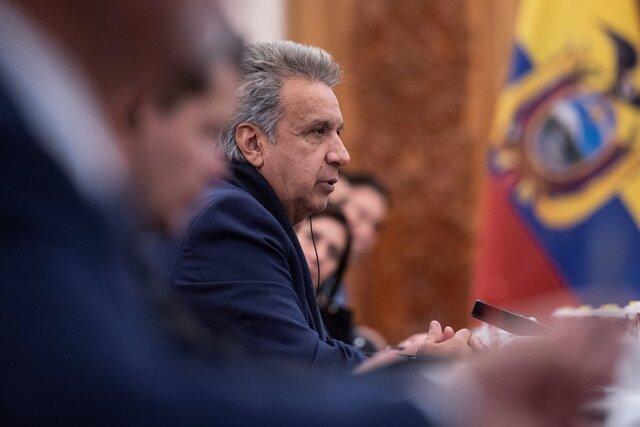 کاهش ۵۰ درصدی حقوق رئیسجمهوری و اعضای کابینه اکوادور با هدف مقابله با کرونا
