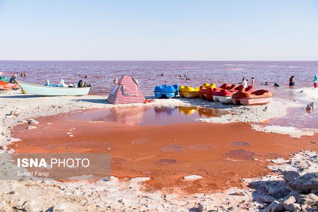 دریاچه ارومیه در بهترین وضعیت خود طی دهه اخیر