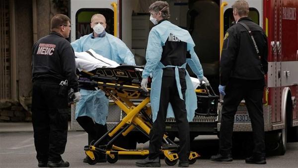 آمار مرگ روزانه بر اثر کرونا در آمریکا بار دیگر رکورد زد