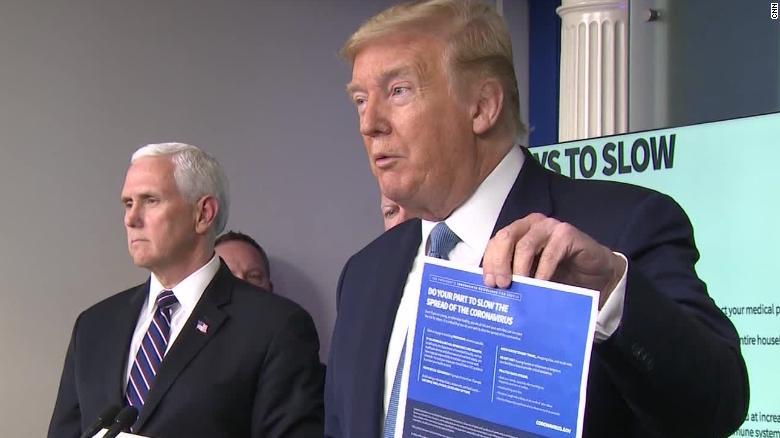 درج نام ترامپ روی چکهای یارانه نقدی کرونایی در آمریکا/ ترامپ کمک به بودجه سازمان بهداشت جهانی را قطع کرد