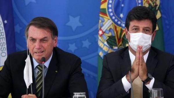 برکناری وزیر بهداشت برزیل به دلیل اصرار بر قرنطینه