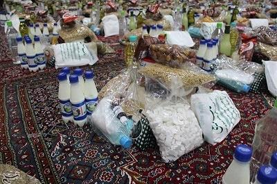 توزیع بستههای معیشتی ارتش در روستاهای هرمزگان