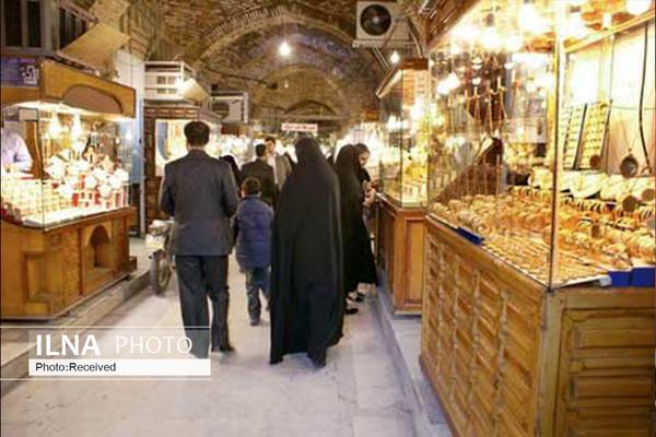 پاساژهای طلا و جواهر تهران فعلا امکان بازگشایی ندارند