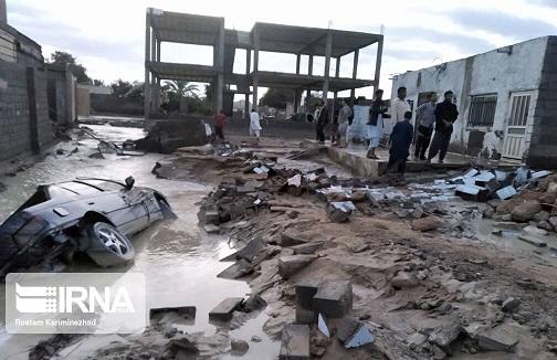 خسارت جدی بارندگی به زیرساختهای چابهار