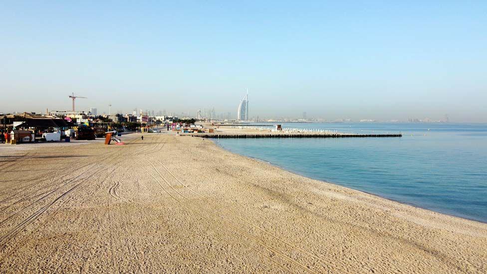 ساحل خالی دبی