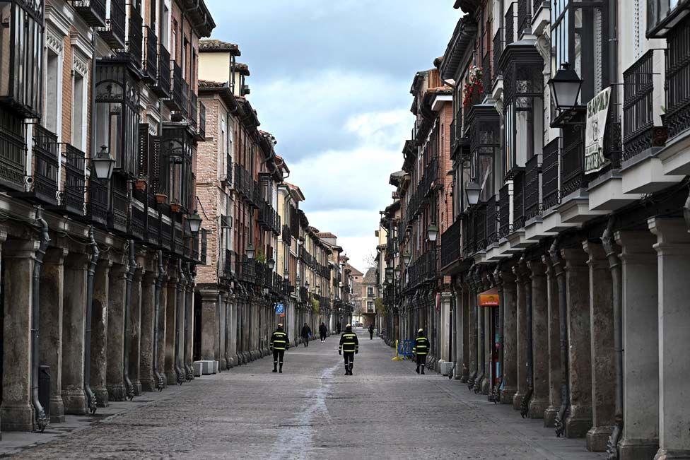 اسپانیا قرنطینه کرونا