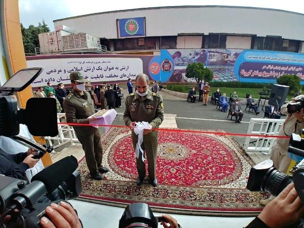 افتتاح مجتمع بیمارستانی ۲۰۰۰ تختخوابی ارتش در تهران