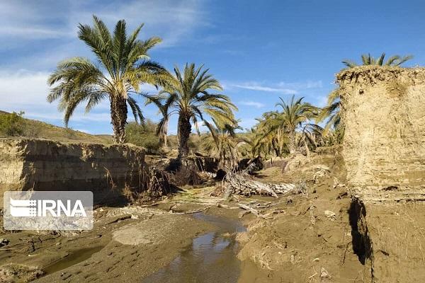 خسارت سنگین سیل در رودبارجنوب کرمان