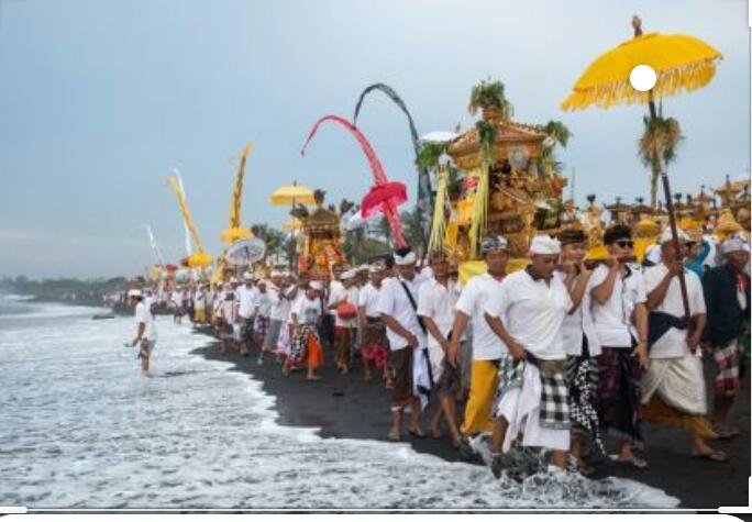 مردم بالی هر سال نو را در قرنطینه می گذرانند
