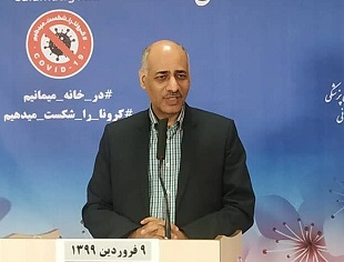 رئیس کمیته اپیدمیولوژی ستاد ملی کرونا: ویروس کرونا از اوایل بهمن در ایران چرخش داشته است