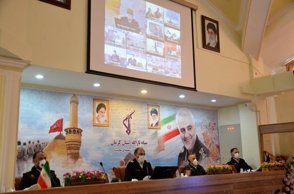 ورودی های استان کرمان بسته شد
