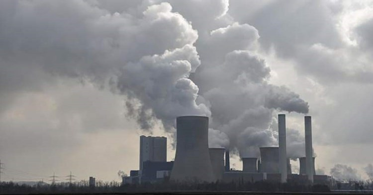 آلودگی هوا مازوت