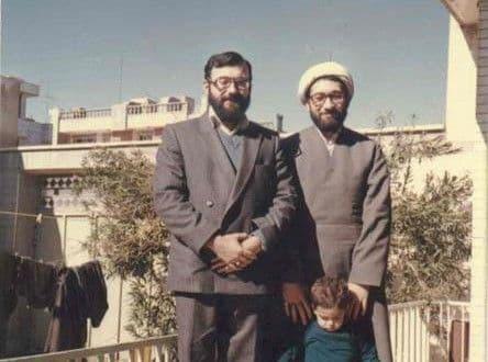 عکس قدیمی از جواد و صادق لاریجانی (عکس)