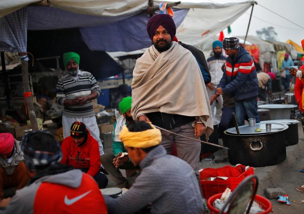 اعتراض کشاورزان هندی
