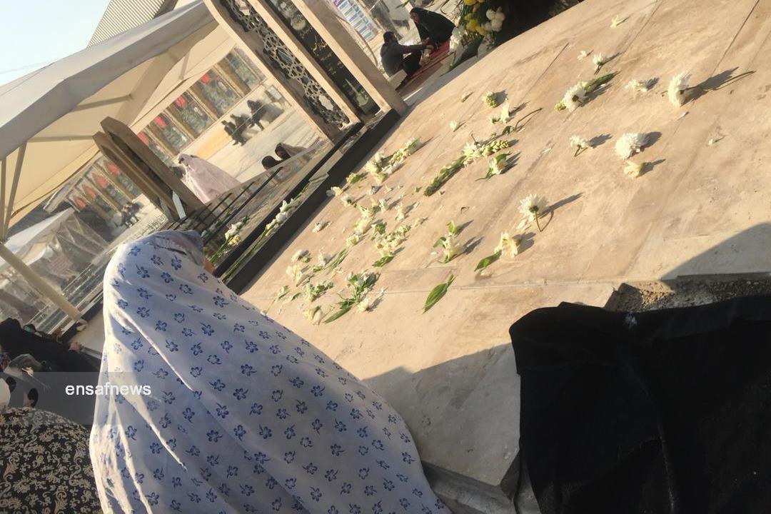 قبر کشتهشدگان هواپیمای اوکراینی در امامزاده صالح
