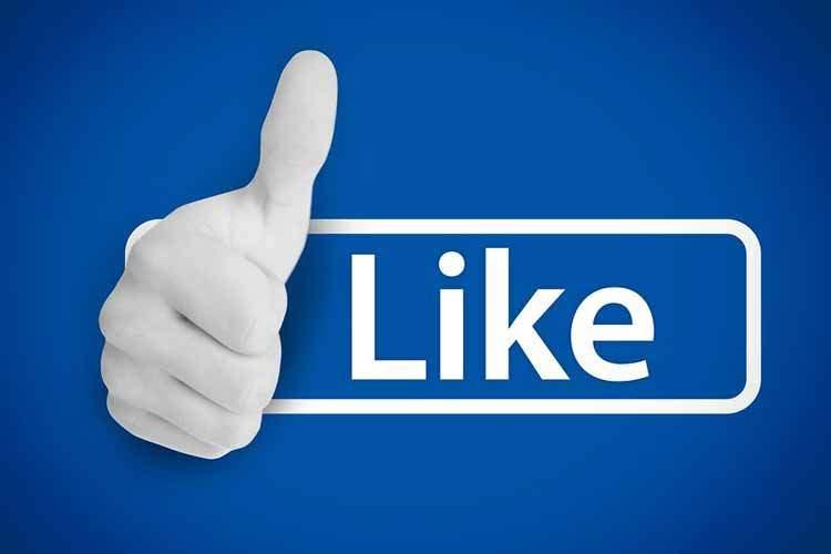 لایک صفحات عمومی فیسبوک