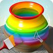دانلود بازی سفالگری برای موبایل - Pottery.ly 3D