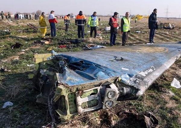 درخواست 5 کشور از ایران برای شفافیت در خصوص جزئیات حادثه سقوط «هواپیمای اوکراینی»