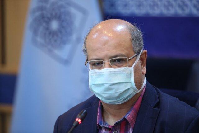 زالی: کاهش ۶۰ درصدی بستریهای کرونا در تهران