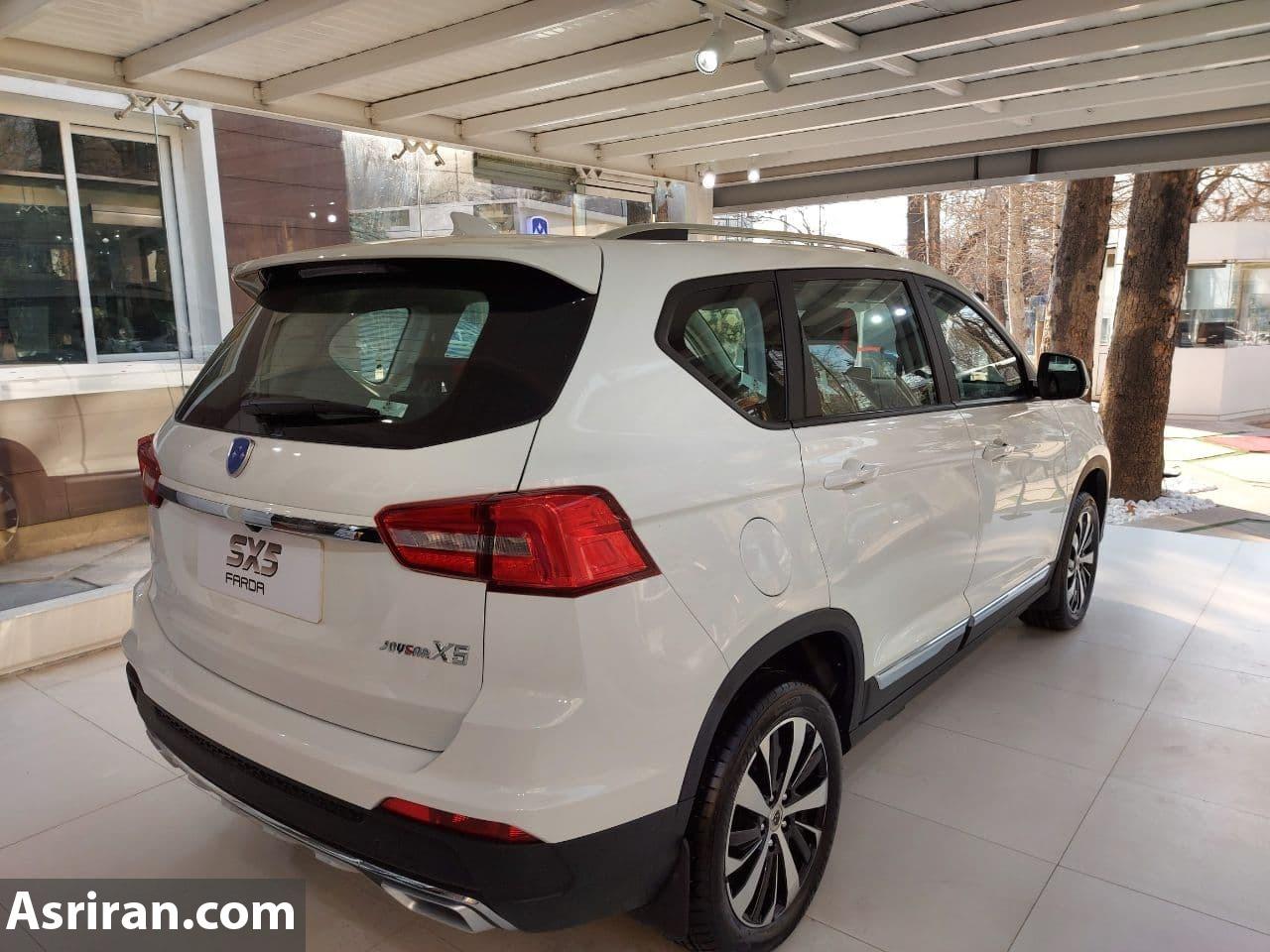 خودروی کراس اوور جدید بازار ایران رسما معرفی شد /sx5 با چه مشخصاتی وارد بازار می شود (+عکس)
