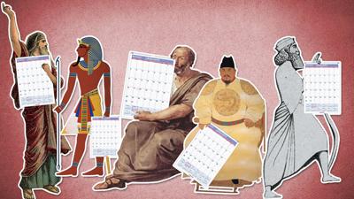 انواع تقویم ها در جهان