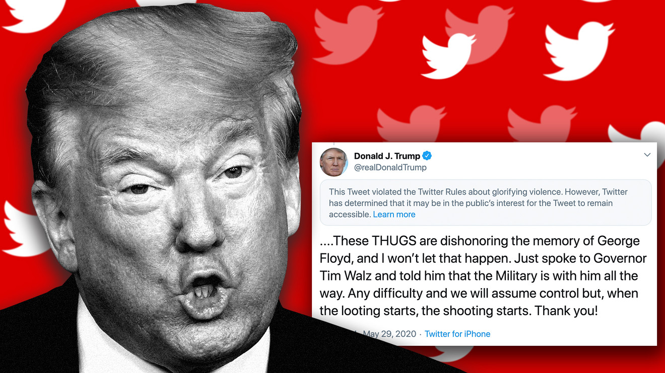 ریشه های خفه کردن صدای ترامپ در آمریکا