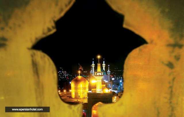 هتل های 3 ستاره نزدیک حرم و نمایی از حرم امام رضا (ع)