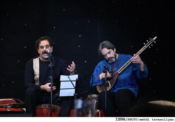 حسین علیزاده و شهرام ناظری