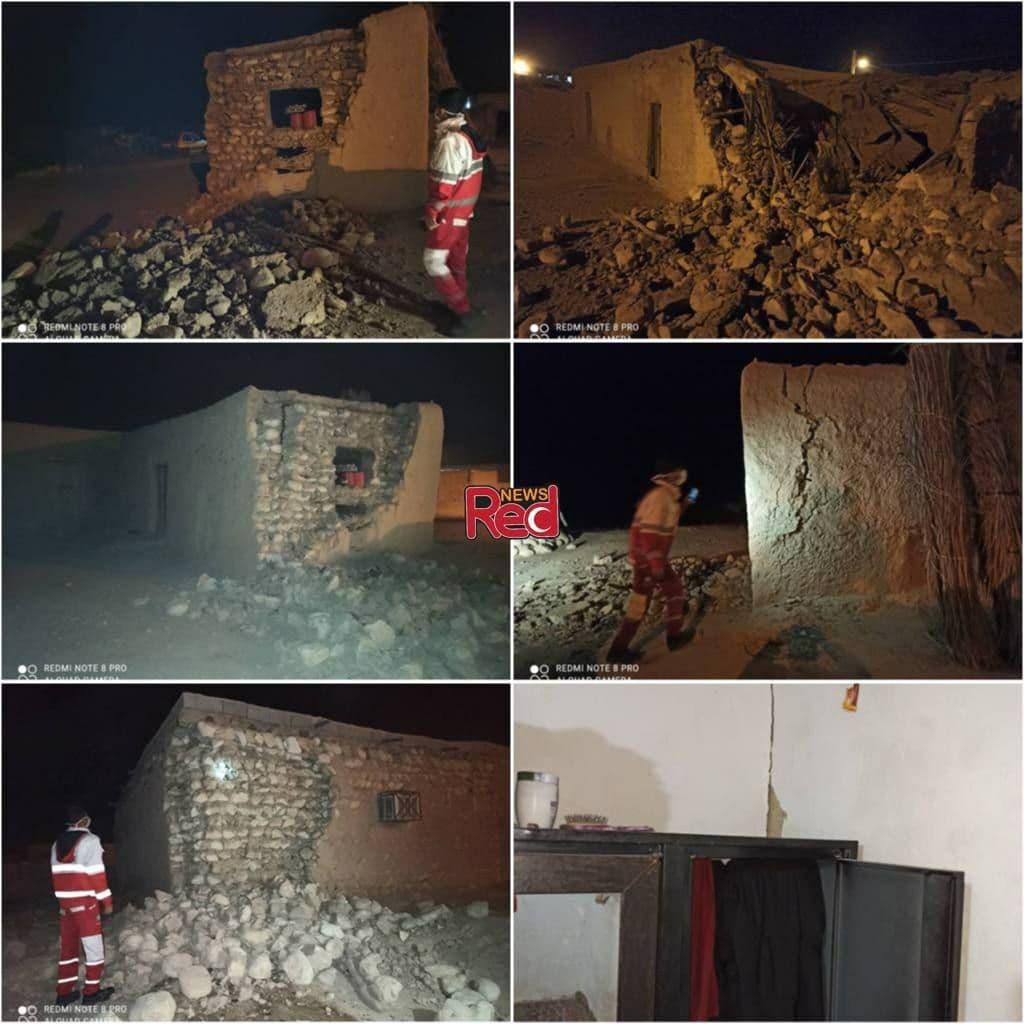 خسارت به ۸۰ واحد روستایی در پی زلزله در هرمزگان
