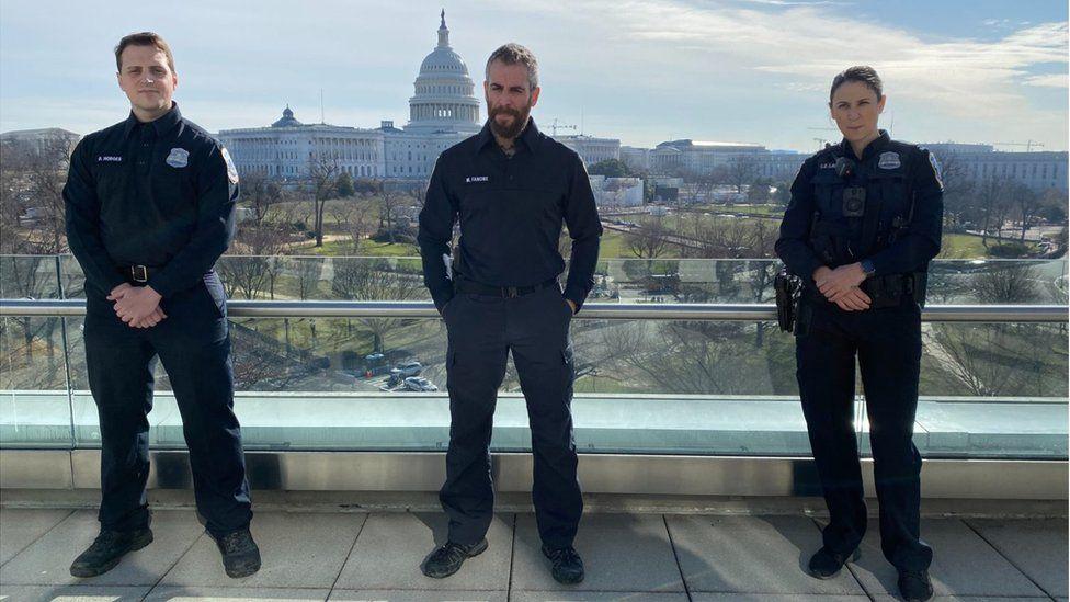 3 پلیس در شورش کنگره