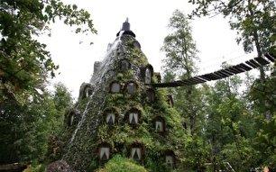 هتل لامونتانا یکی از هتل های عجیب دنیا (+عکس)