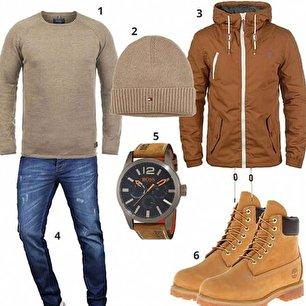 ست لباس مردانه با بوت (عکس)
