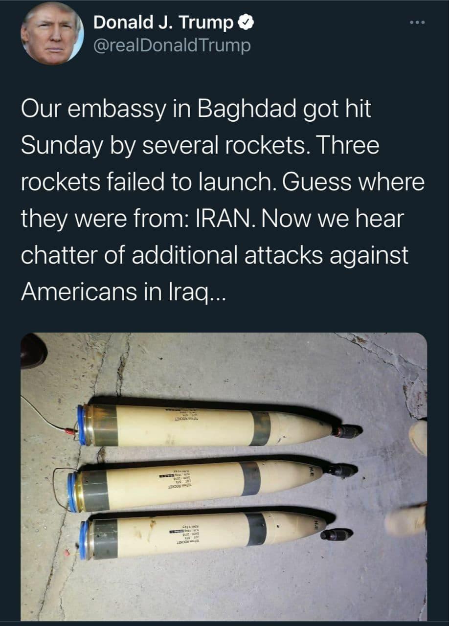 توییت ترامپ علیه ایران