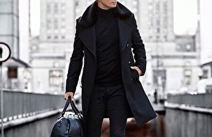 مدل پالتو بلند مردانه (عکس)
