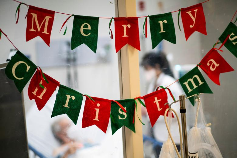 کریسمس در بیمارستان نیوجرسی آمریکا