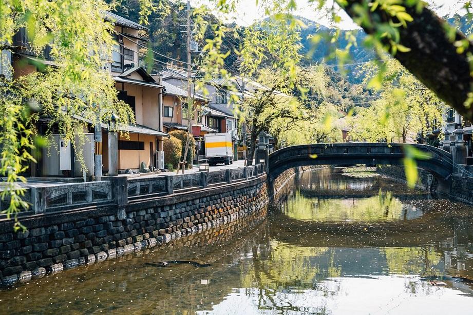 چشمههای آبگرم Kinosaki، ژاپن