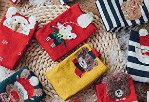 مدل جوراب طرح کریسمس (عکس)