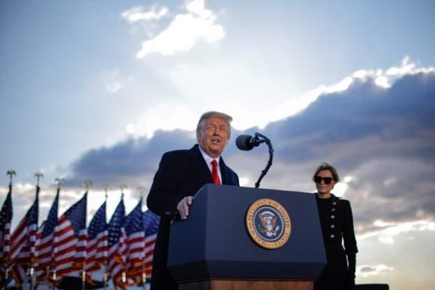 ترامپ در روز تحلیف