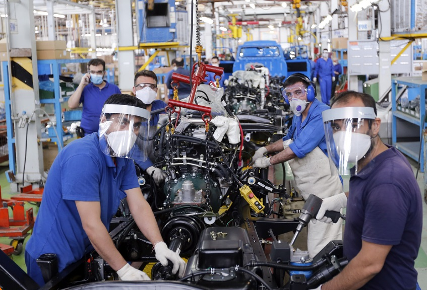 تولید خودروهاي تجاري سبک در زامیاد از ۳۰ هزار دستگاه عبور کرد