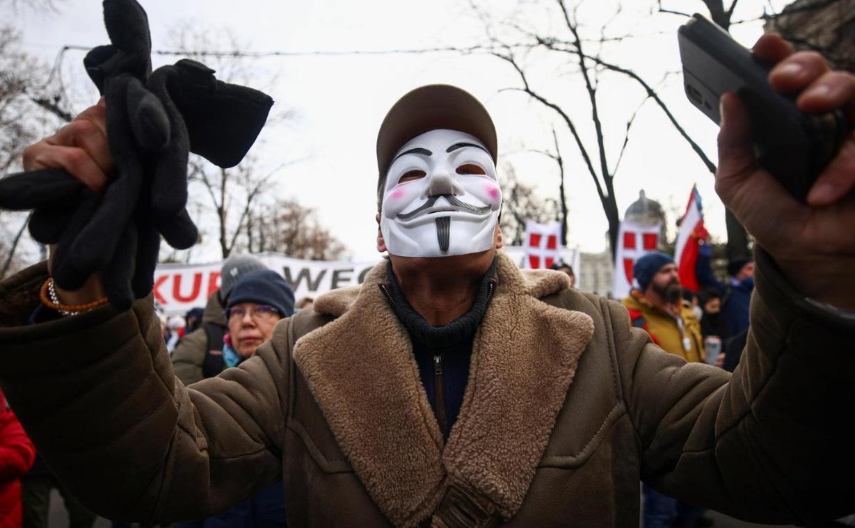 ممنوعیت تظاهرات ضد کرونایی در اتریش و بلژیک/